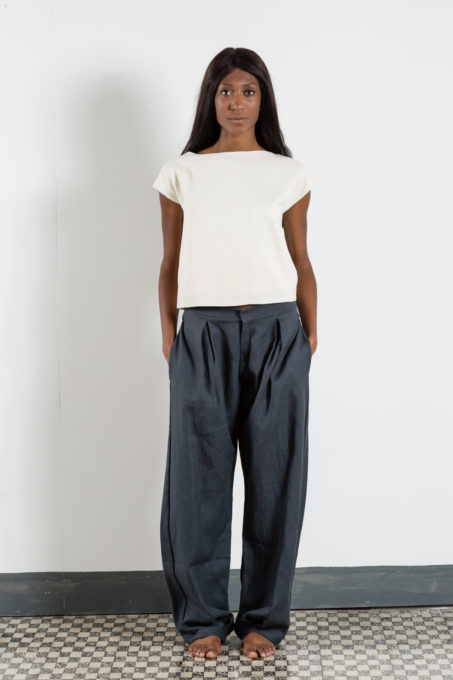 Zuava Pleats Trousers