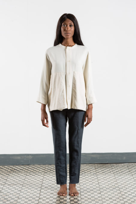 Over Pleat Shirt