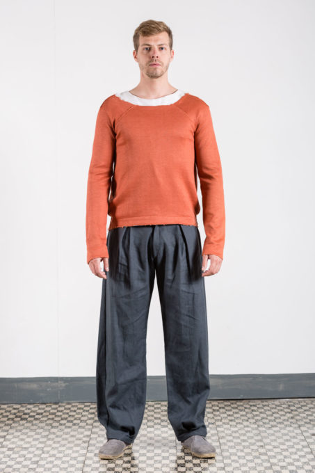 Rust Sweater Man