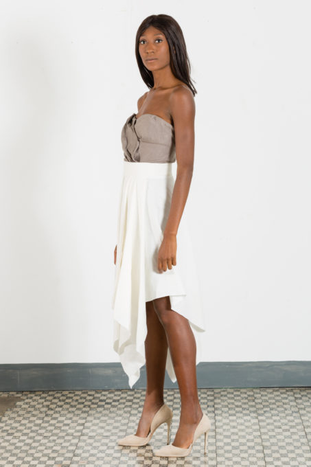 Draping Pointy Skirt
