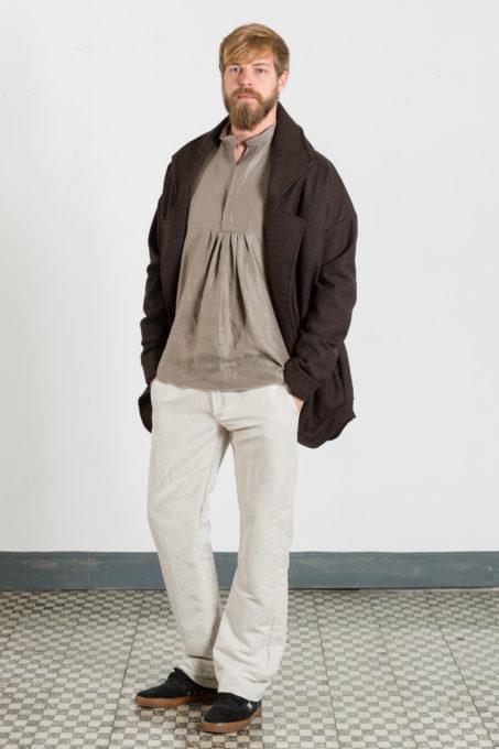 Maxi Coat Dark Brown Man